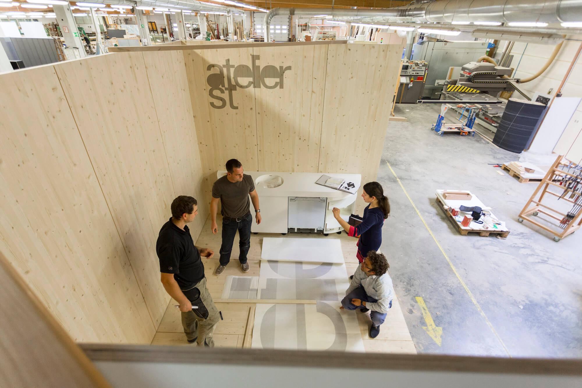 Atelier ST Messestand Designers Open